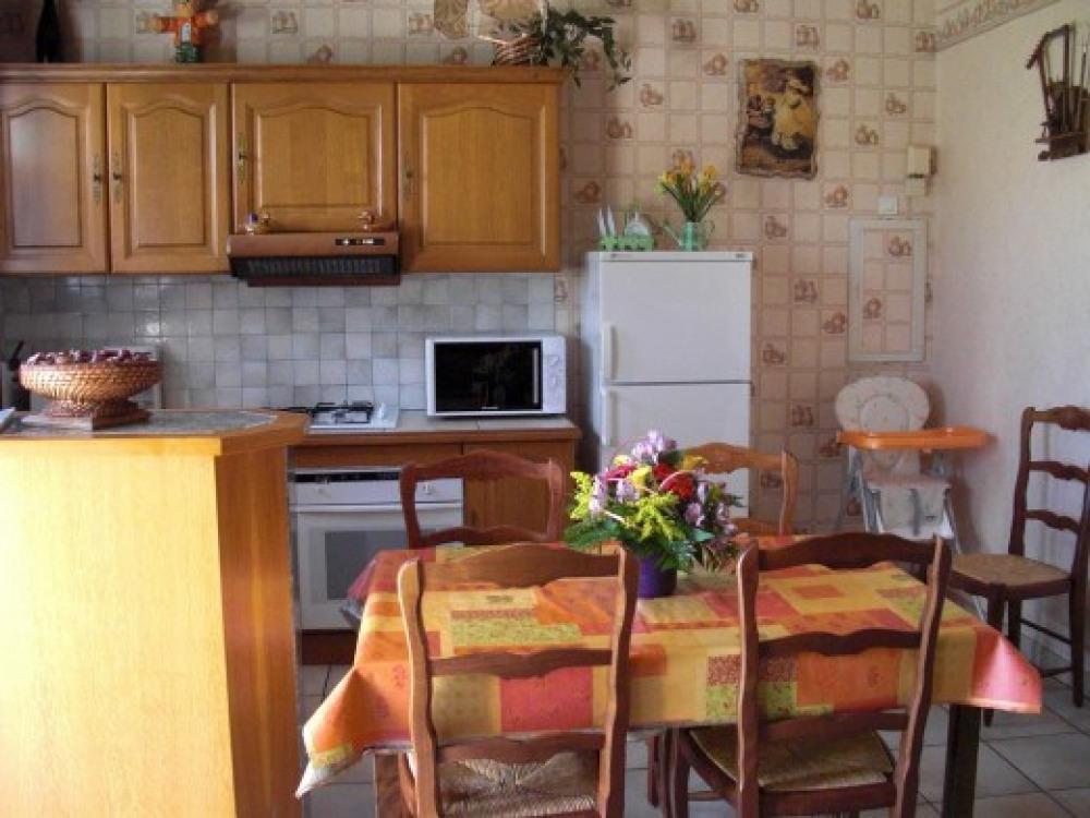 cuisine du Gîte le Gauliat, Corrèze, Saint Pardoux l'Ortigier