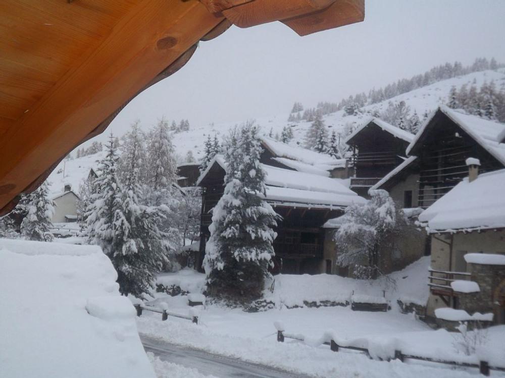 le village de molines en hiver