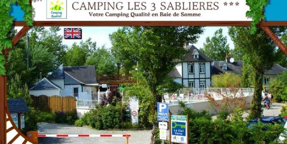 Camping Les 3 Sablières, 97 emplacements, 286 locatifs