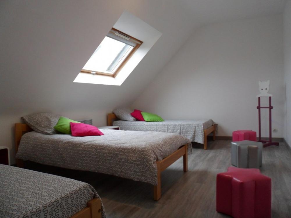 chambre à l'étage 3 couchages