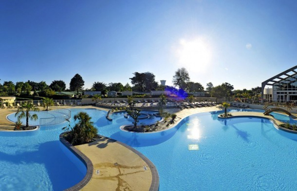 Camping Les Grosses Pierres 5*  - Mobil-home  - 2 chambres - 4/6 personnes