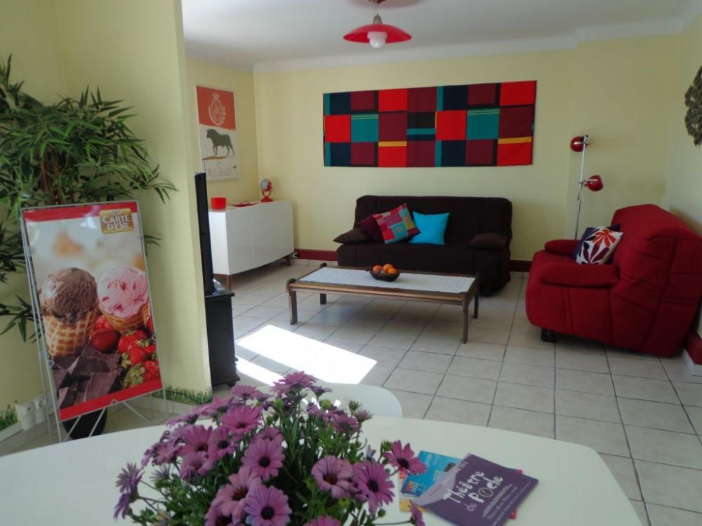 Living et Salle repas (24 m2)