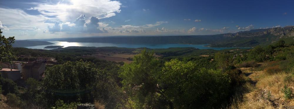 le lac de Ste Croix