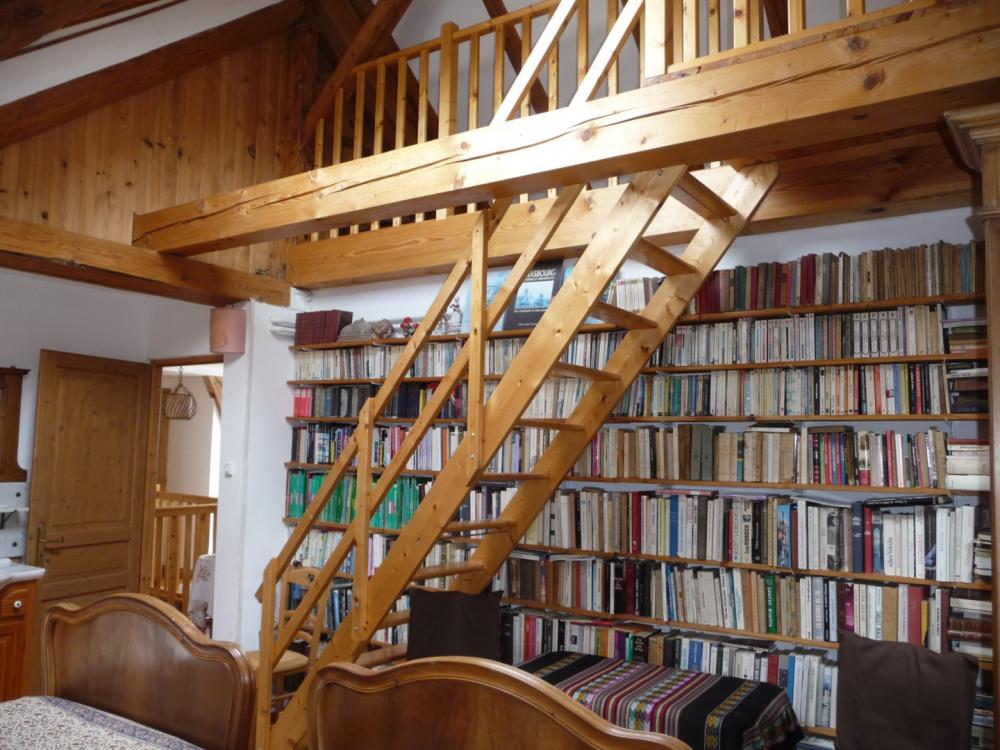Bibliothèque, chambre Margaux