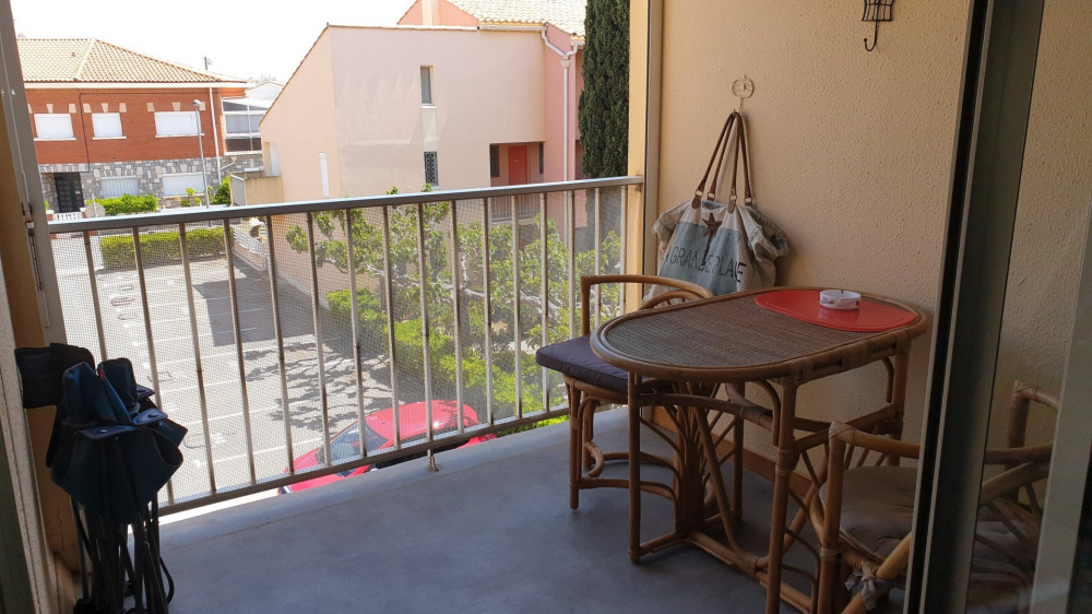Location vacances Narbonne -  Appartement - 2 personnes - Balcon - Photo N° 1