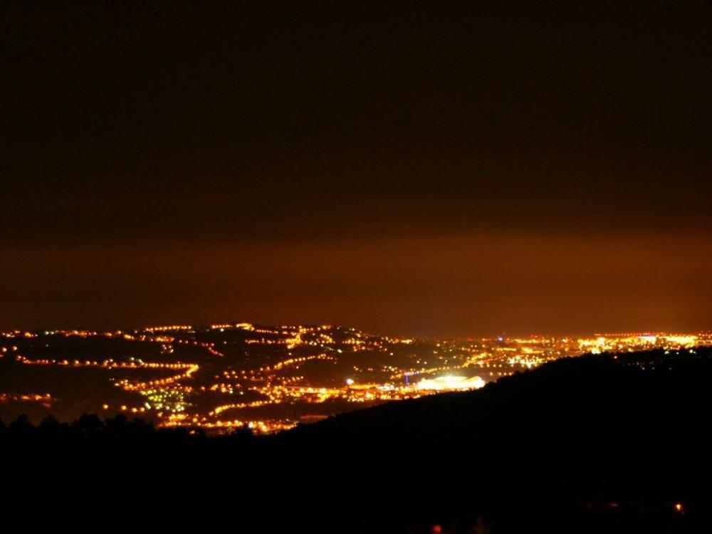 vue sur le nouveau stade Allianz de Nice.