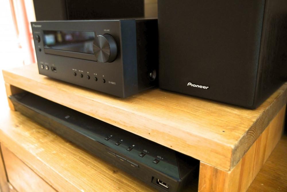 Chaîne Pioneer + Home cinema Sony