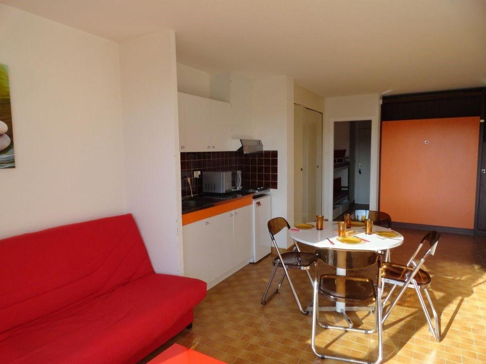 Résidence Héliopolis - Appartement Studio cabine de 35 m² environ pour 4 personnes.