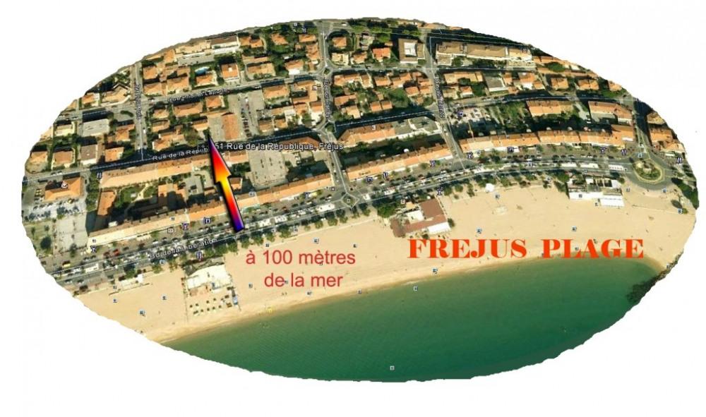 Location vacances Fréjus -  Appartement - 6 personnes - Chaise longue - Photo N° 1