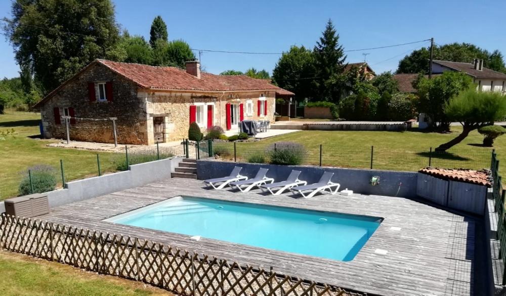 Holiday rentals La Chapelle-Gonaguet - House - 8 persons - BBQ - Photo N° 1