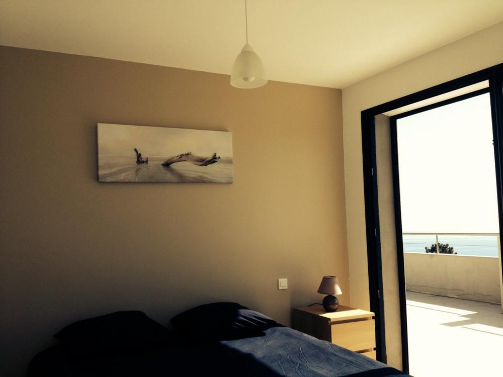 Chambre Prestige - vue mer et montagne: 30 m² esprit loft, grand dressing
