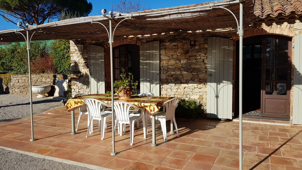Golfe ST TROPEZ -  Ravissant Mazet Provençal - 5 pers - Piscine - 3 km mer