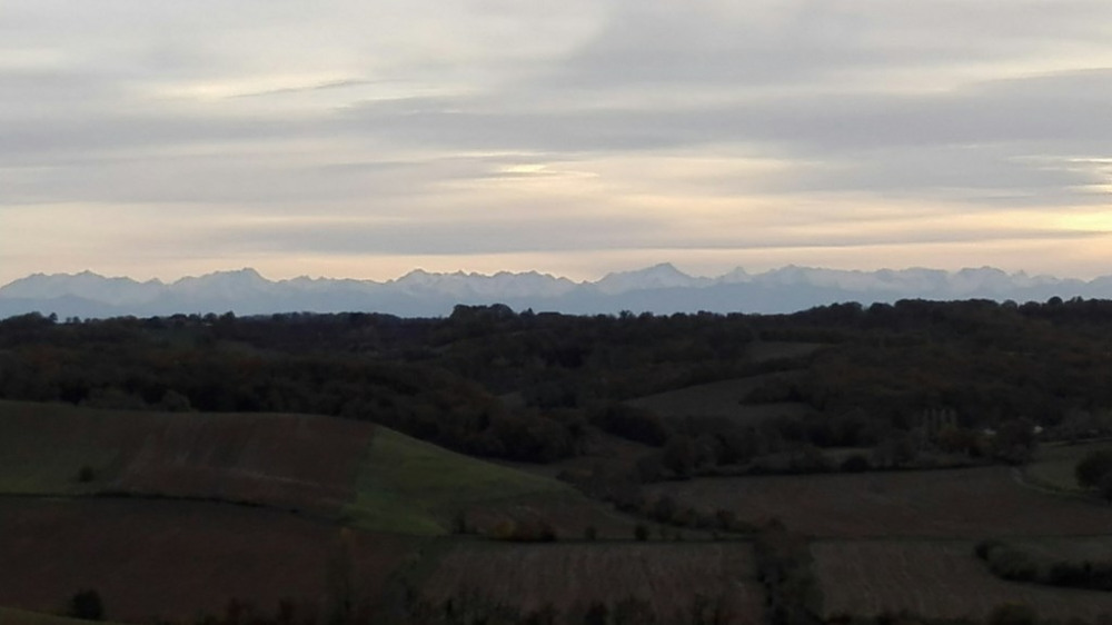 Vue Pyrénées