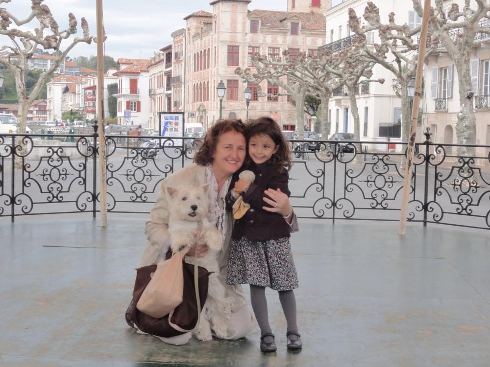 Sur le kiosque, place Louis XIV