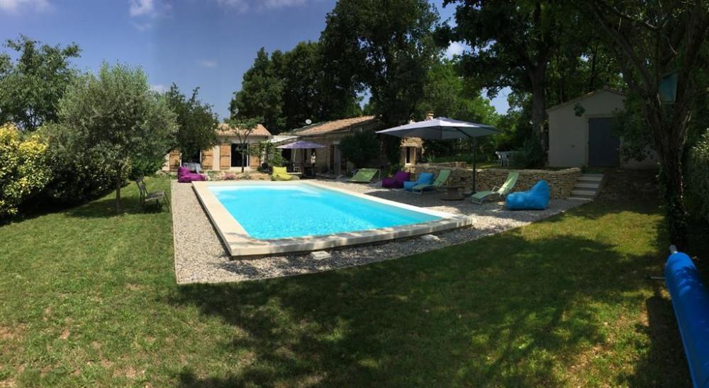 Location vacances La Roque-sur-Pernes -  Maison - 5 personnes - Jardin - Photo N° 1