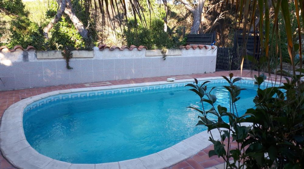 maison avec piscine sur la côte bleue