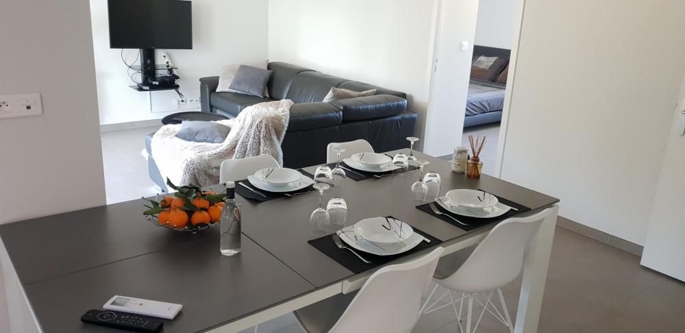 Location vacances Sarrola-Carcopino -  Appartement - 4 personnes - Salon de jardin - Photo N° 1