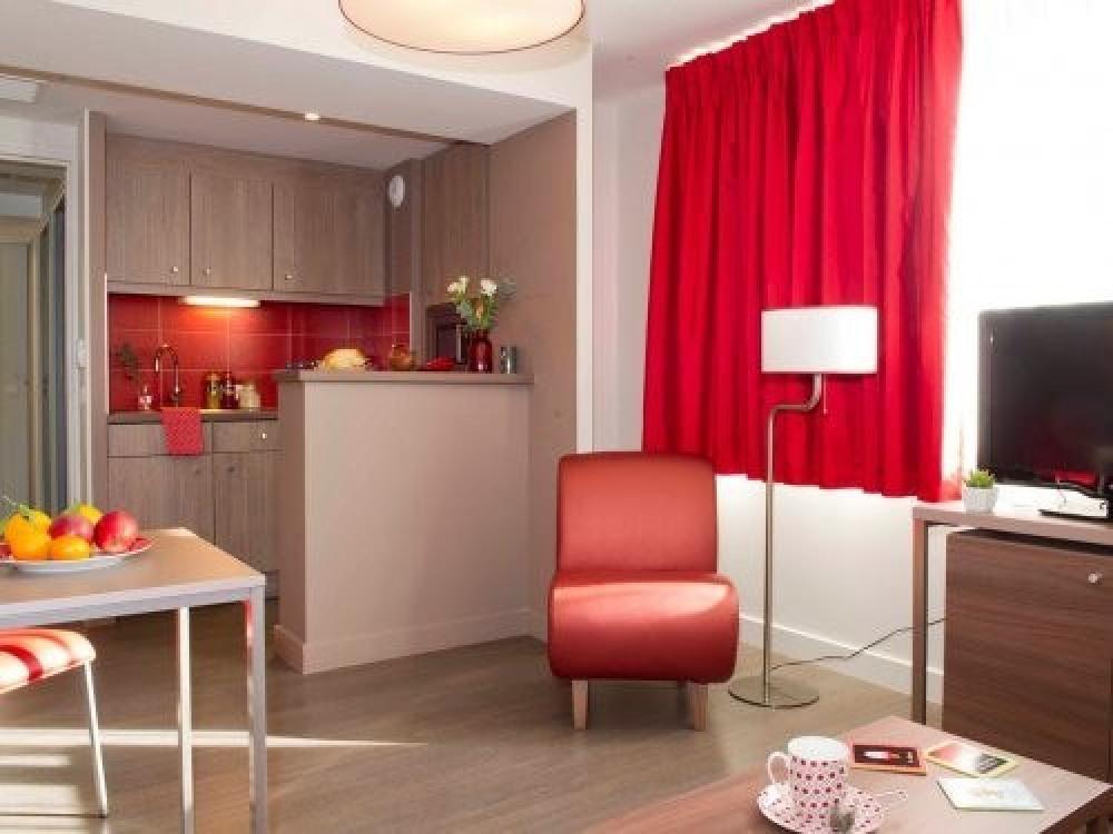 Adagio Aparthotel Caen Centre - Appartement 1 chambre 4 personnes