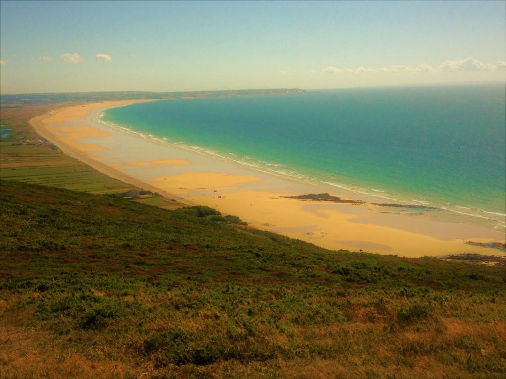 Paysage à proximité: Baie d' Ecalgrain