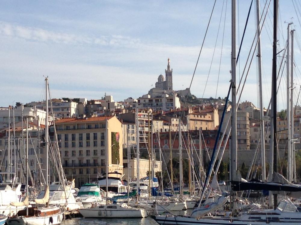 Vue Vieux Port de l'appartement Marseille 5 personnes