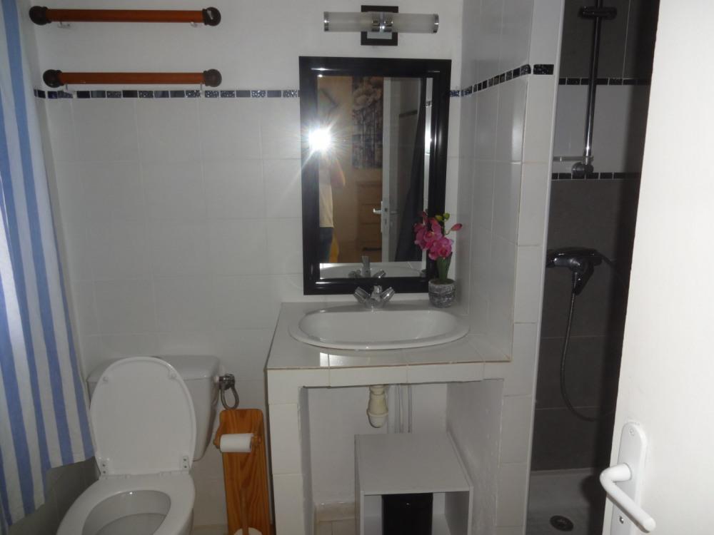 salle de bain (rez de chaussée)