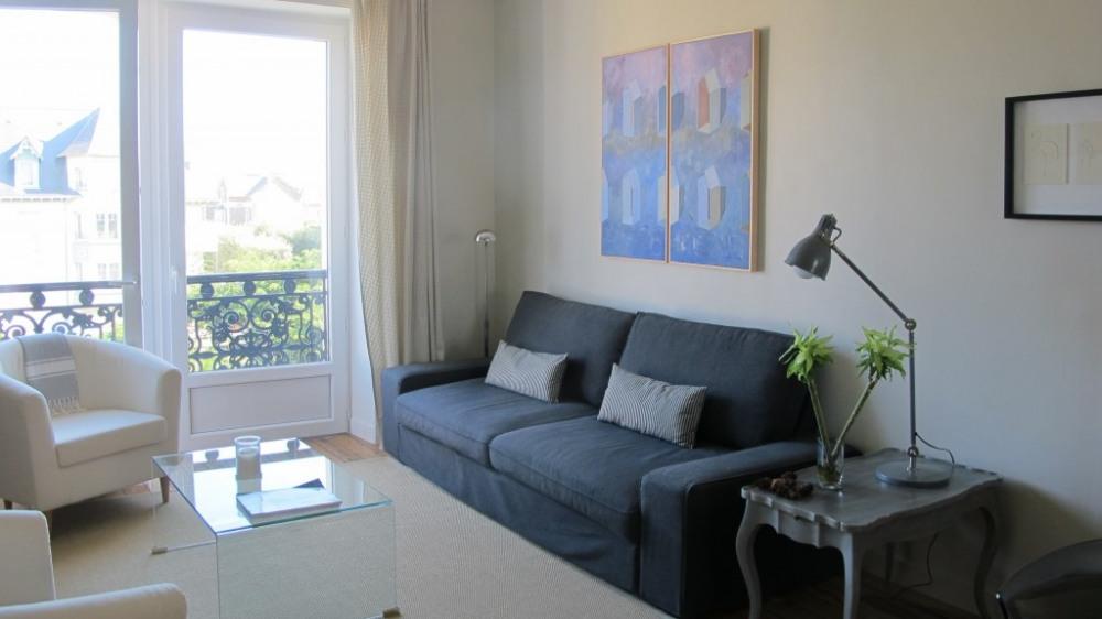 Location vacances Saint-Malo -  Appartement - 4 personnes - Jardin - Photo N° 1