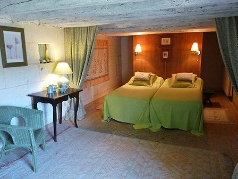 chambre avec lits jumeaux