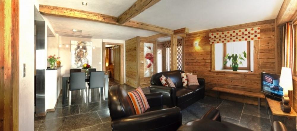 Location vacances Le Grand-Bornand -  Appartement - 6 personnes - Chaise longue - Photo N° 1
