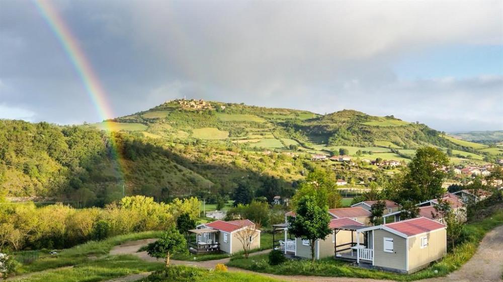 Vue sur Luzençon