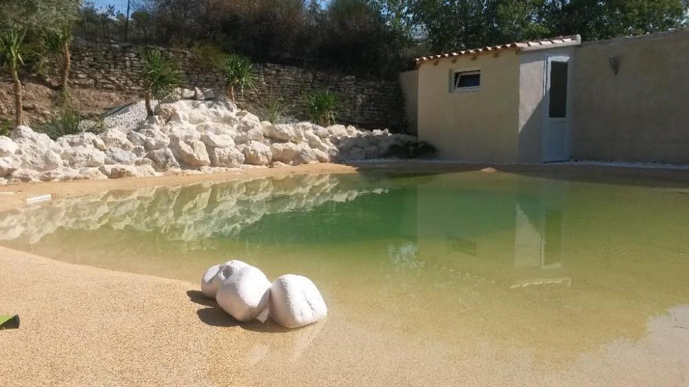 Maison pour 6 pers. avec piscine privée, Lagnes