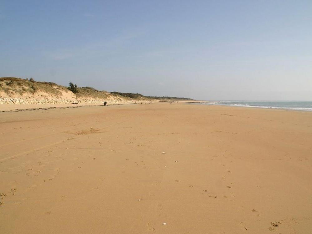 La plage vers Vert Bois