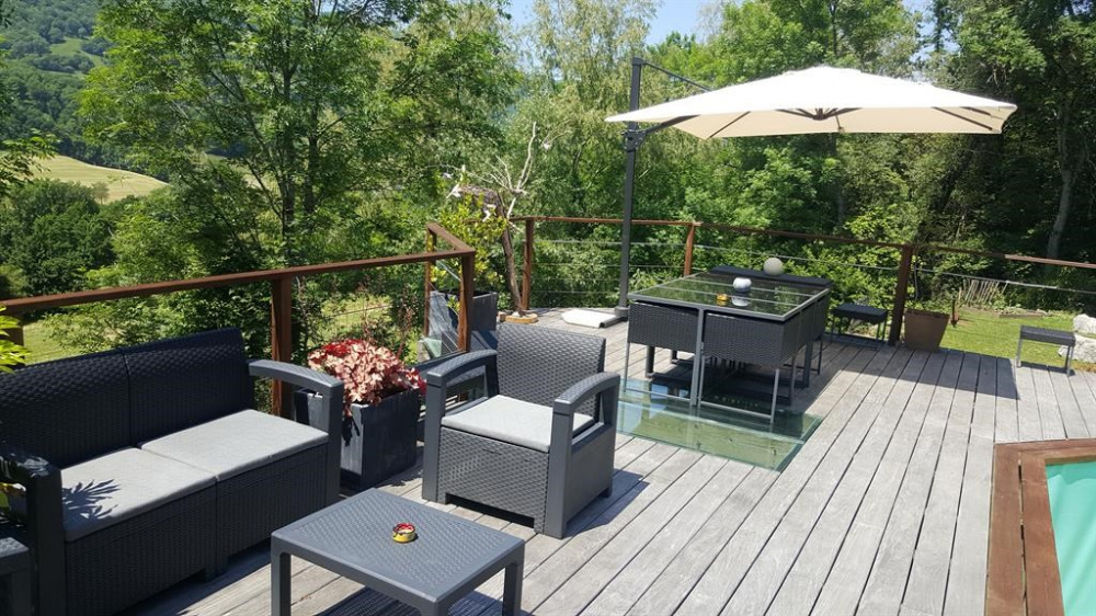 Location vacances Moye -  Gite - 6 personnes - Barbecue - Photo N° 1