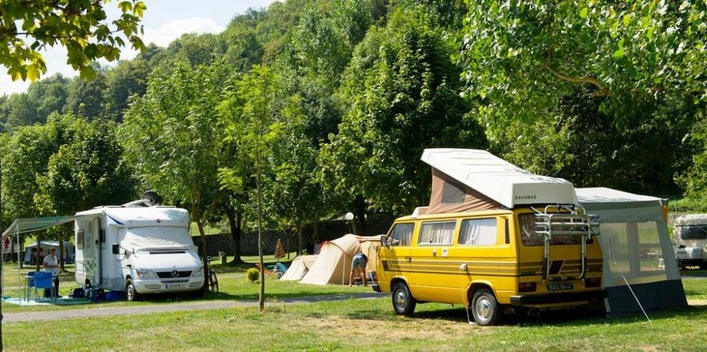 Camping LE HOUNTA, 89 emplacements, 12 locatifs