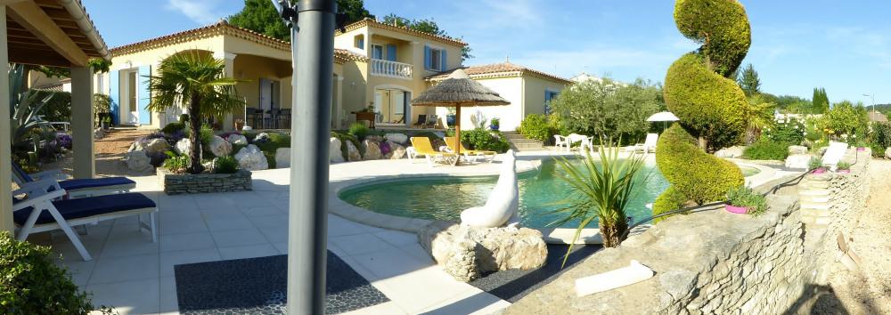 Propriété de charme avec piscine privé au bio UV