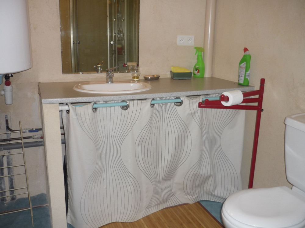 Salle d'eau à l'étage (Douche/WC)