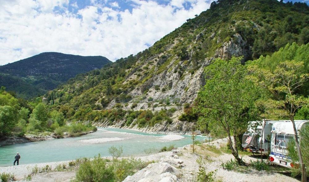 Camping L'Or Vert, 79 emplacements, 7 locatifs