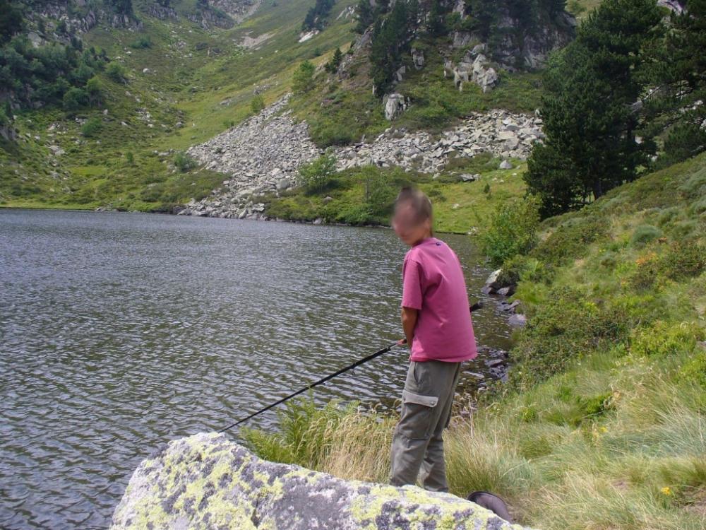 Pêche en montagne a proximité