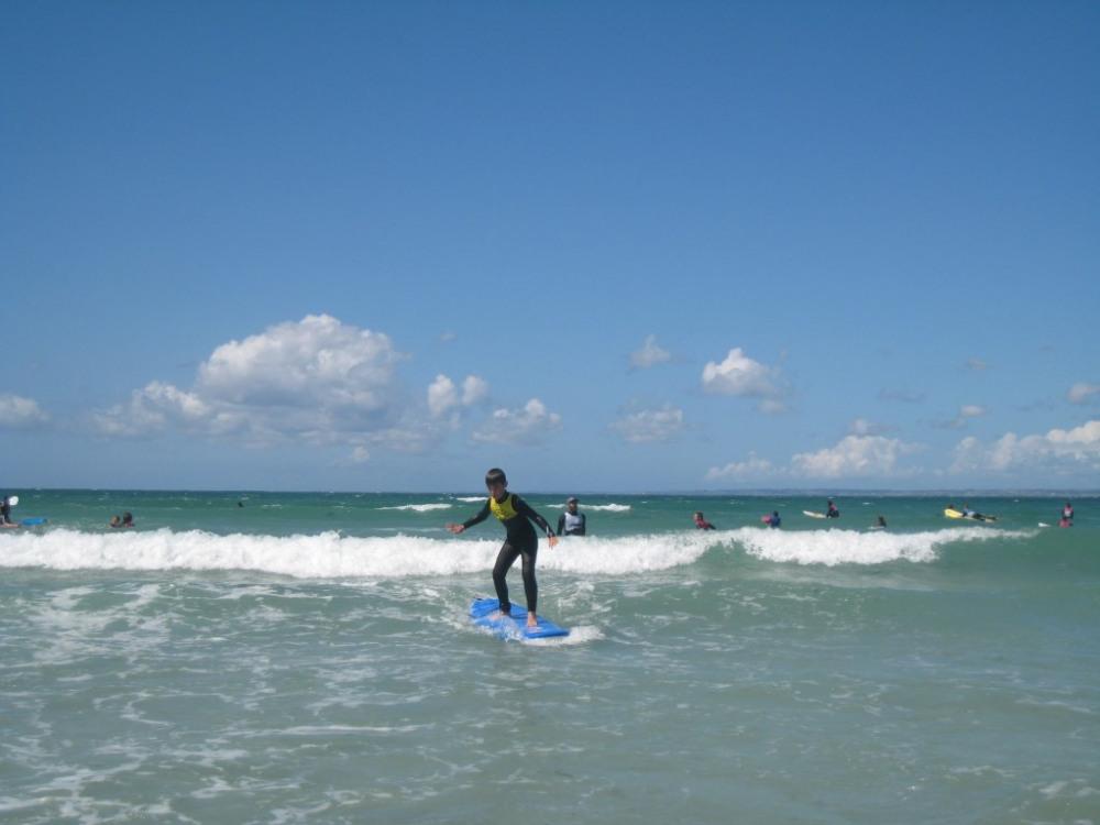 Plaisir du surf