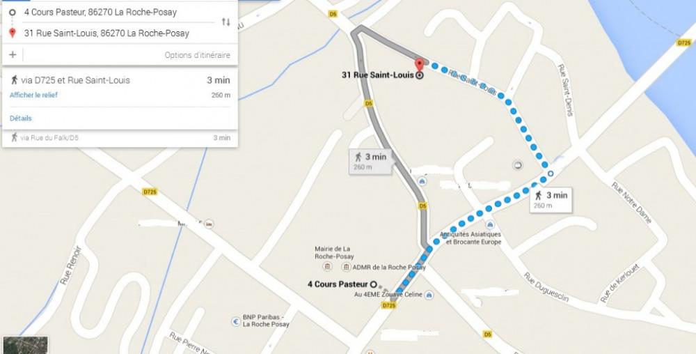Distance Thermes Saint Roch