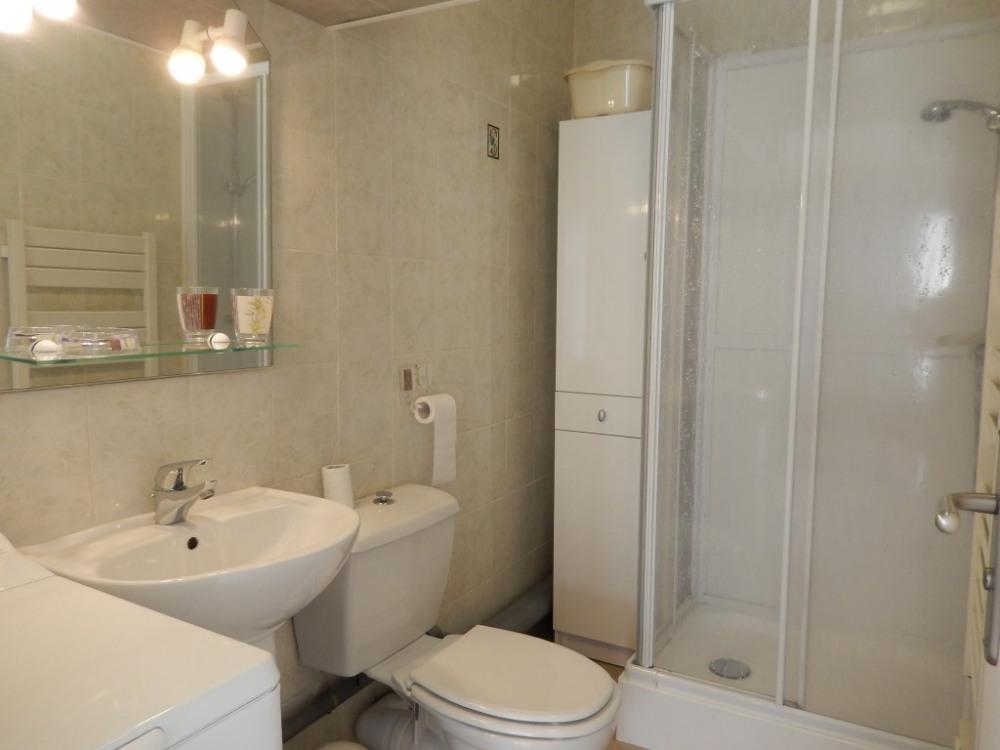 Salle d'eau avec wc et lave linge