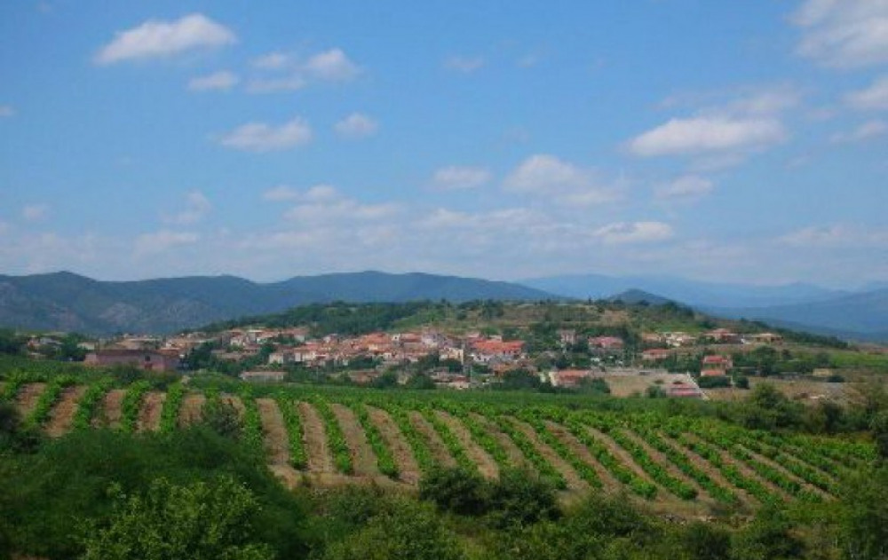 Maison familliale à Cassagnes dans le Languedoc Roussillon à la campagne