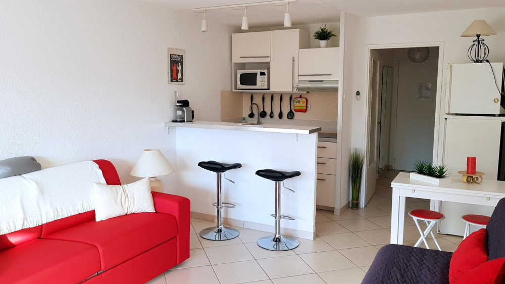 Holiday rentals Saint-Raphaël - Apartment - 3 persons - Garden furniture - Photo N° 1