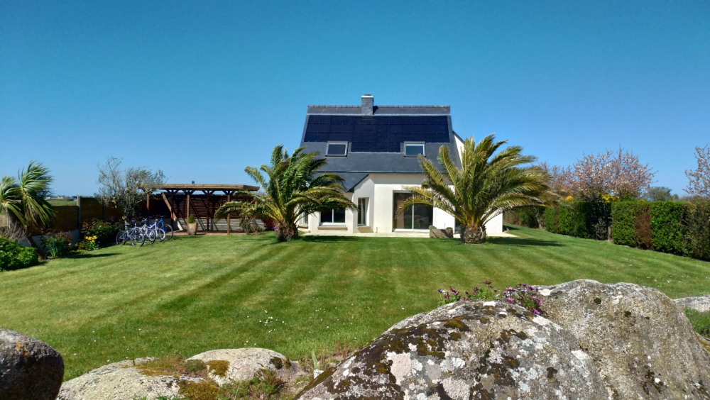 Holiday rentals Plouescat - House - 8 persons - BBQ - Photo N° 1
