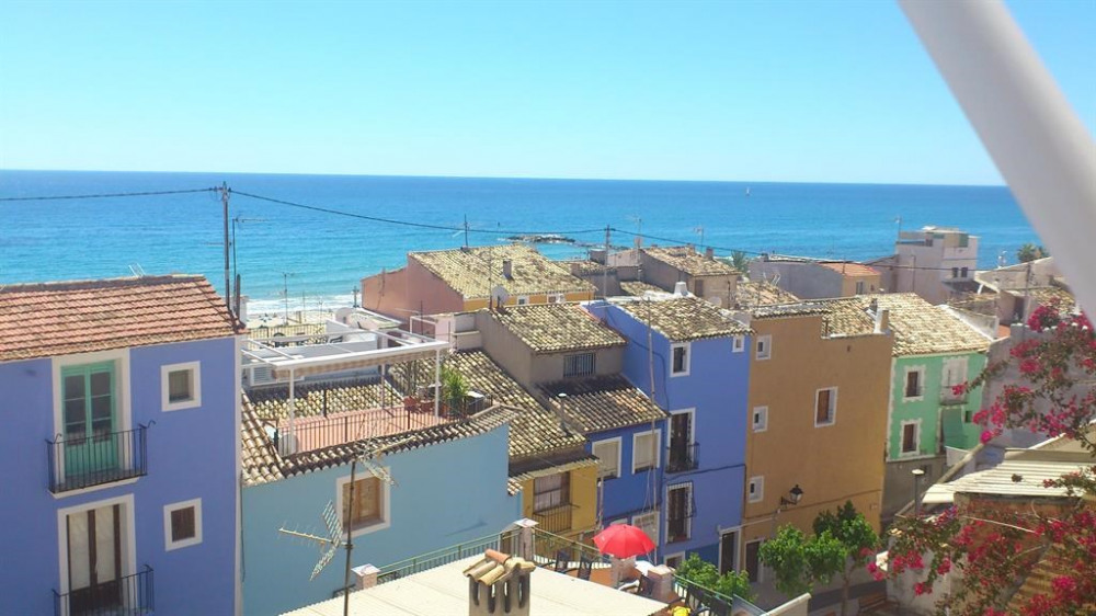 Location vacances la Vila Joiosa -  Appartement - 3 personnes - Chaise longue - Photo N° 1