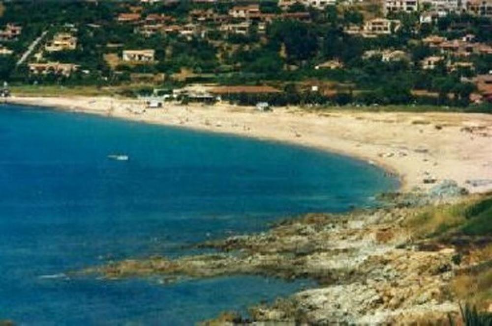 La plage vue de la maison