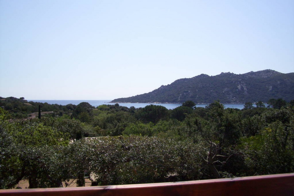 vue de la terrasse..