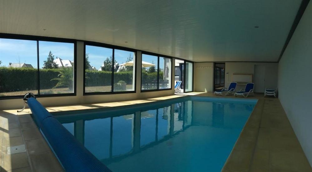 Villa pour 12 pers. avec piscine privée, Plouhinec