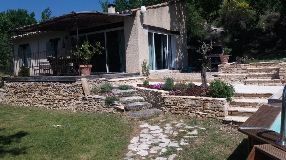 Holiday rentals Mane - House - 4 persons - BBQ - Photo N° 1