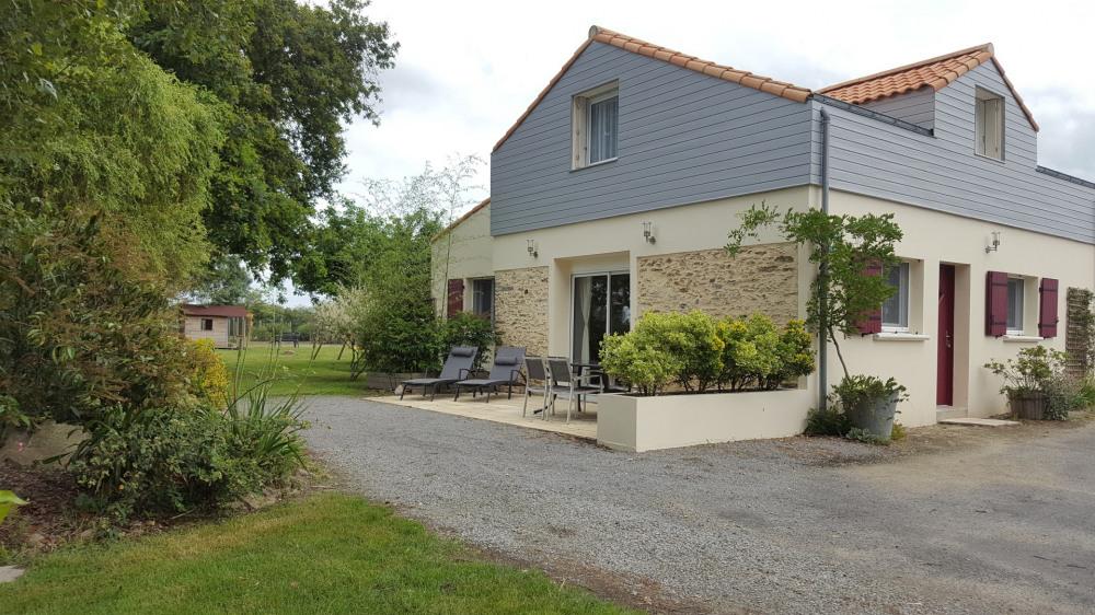 Location vacances Fresnay-en-Retz -  Gite - 6 personnes - Barbecue - Photo N° 1