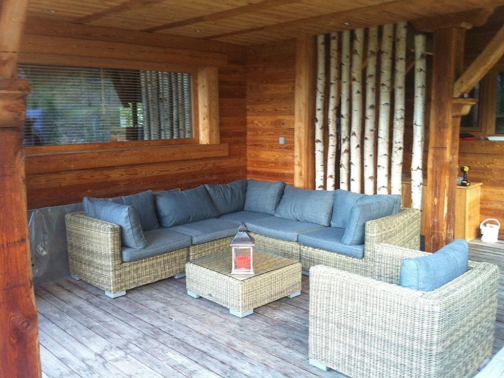 Terrasse du triplex 25 m²